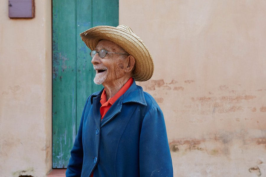 Antonio. He's 104 Years Old! And an Adorable Flirt. In Remedios.