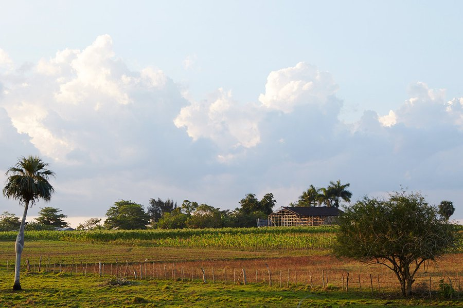 A Farm on the Road to Vinales