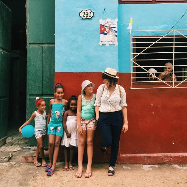 Ellen Bennett in Cuba