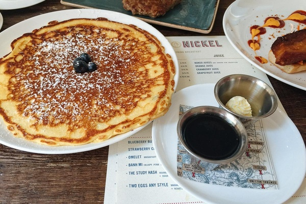 Pancakes at Nickel, Denver