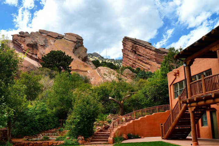 Red Rock Amphitheatre in Denver.