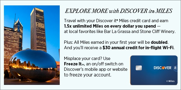 Discover It Miles in Chicago