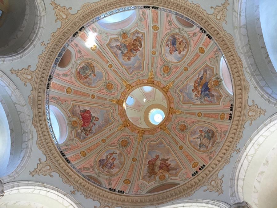 Dresden, Frauenkirche interior dome
