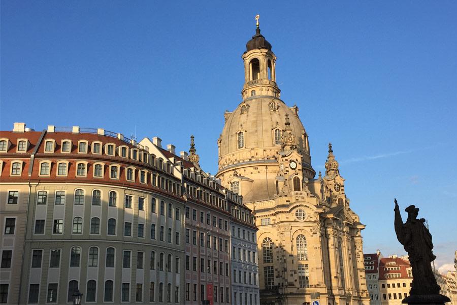 Dresden, Frauenkirche, Neumarkt