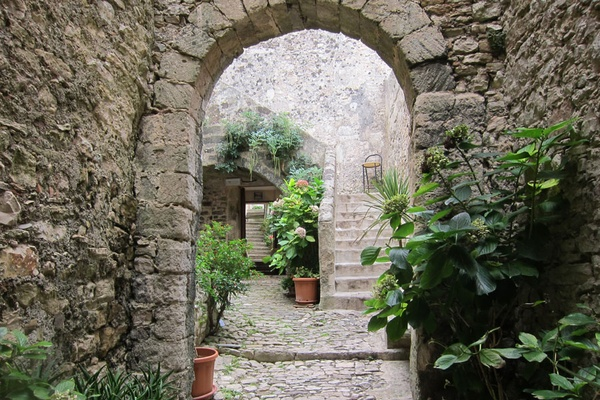 Gardens in Erice