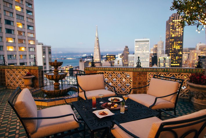 Fairmont San Francisco hotel penthouse
