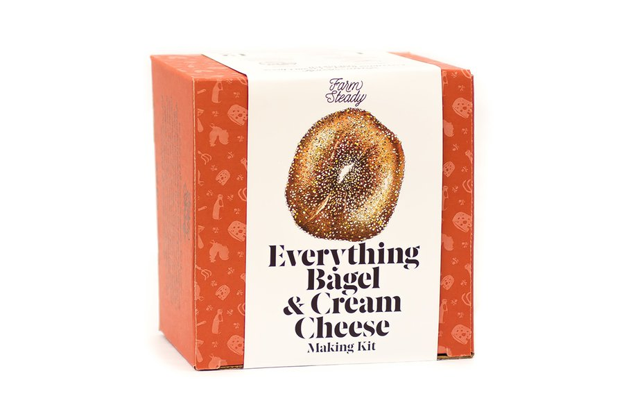 FarmSteady Everything Bagel & Cream Cheese Kit