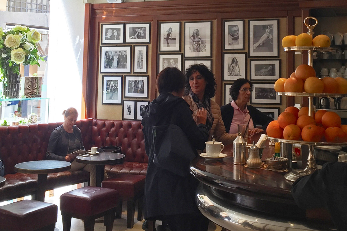 Caffe Giacosa, Via Tornabuoni, Florence