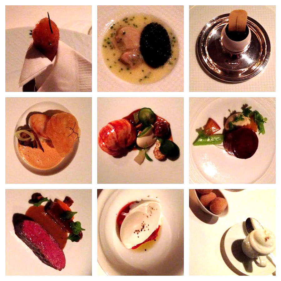 Dinner at the French Laundry