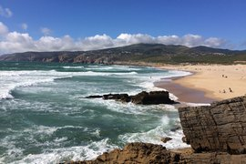 Guincho beach, Cascais, Portugal.