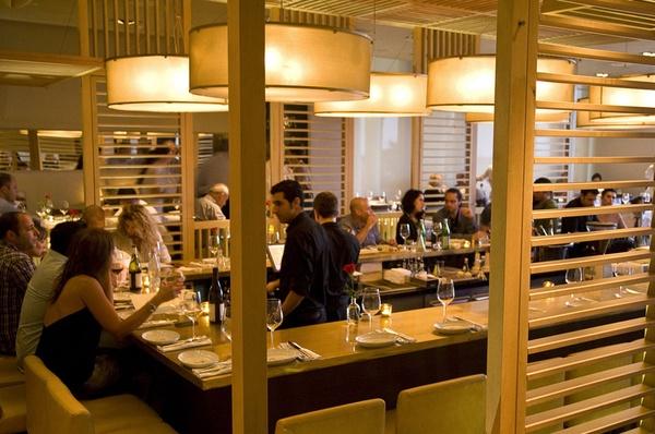 Herbert Samuel restaurant in Tel Aviv