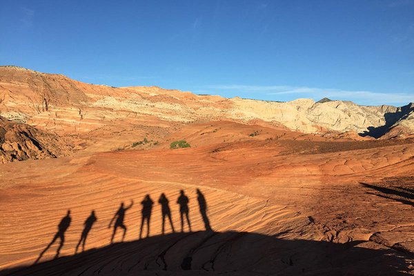 Red Mountain Resort Hike in the Utah Desert
