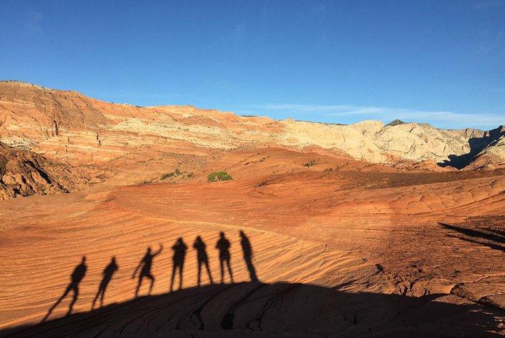 Red Mountain Resort Hike in the Utah Desert