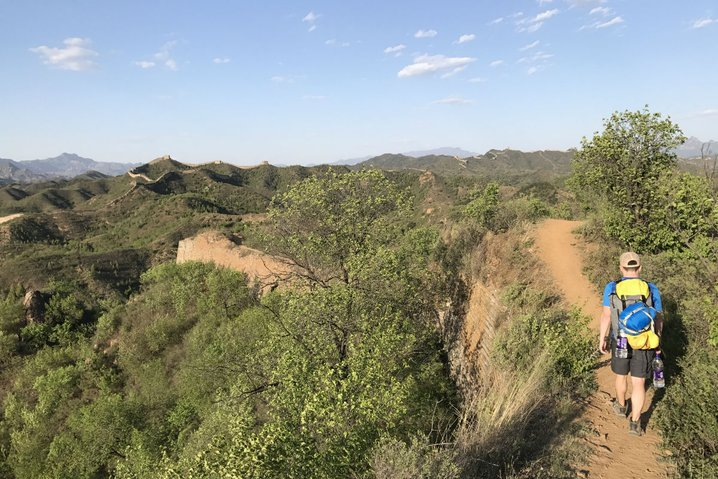 Hiking the Great Wall of China in Gubeikou