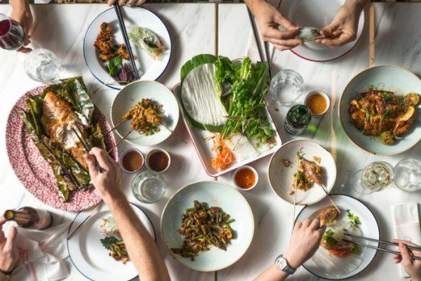 Meal at Le Garcon Saigon in Hong Kong