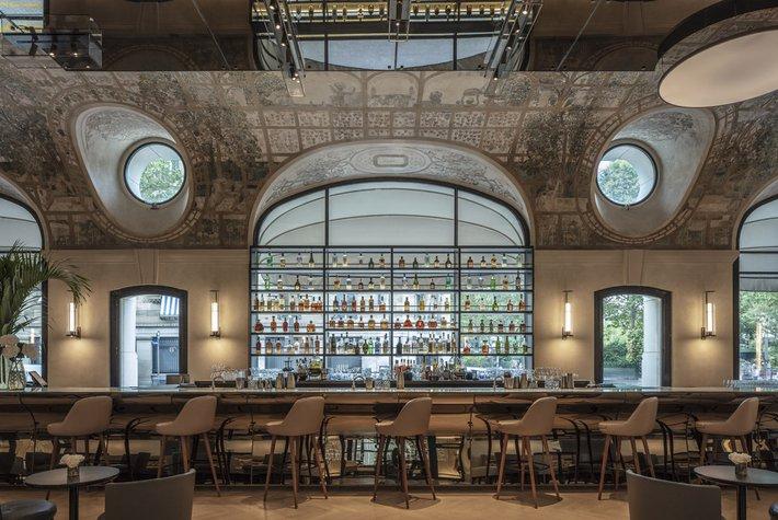 Bar Joséphine at Hotel Lutetia, Paris