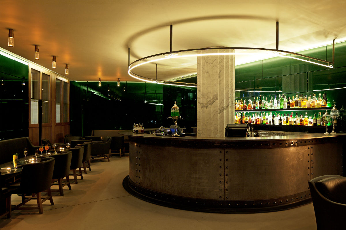 Green Bar, Hotel Café Royal.