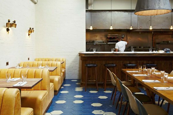 The Hubbard & Bell restaurant at The Hoxton Holborn