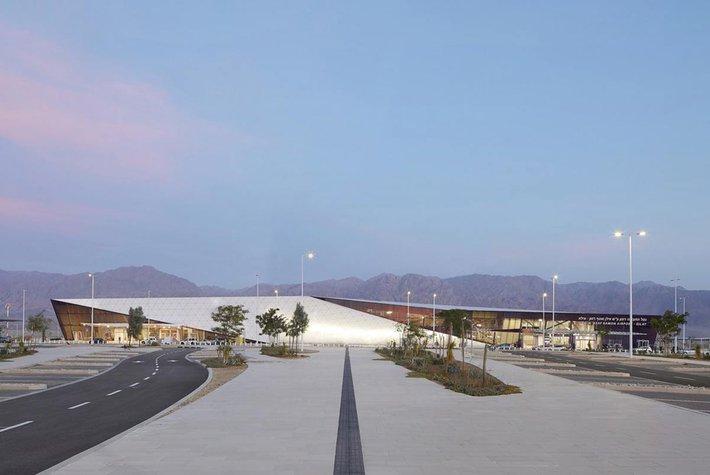Ilan and Asaf Ramon International Airport in Israel.