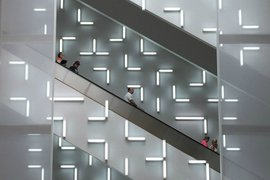 Indianapolis Museum of Art stairs