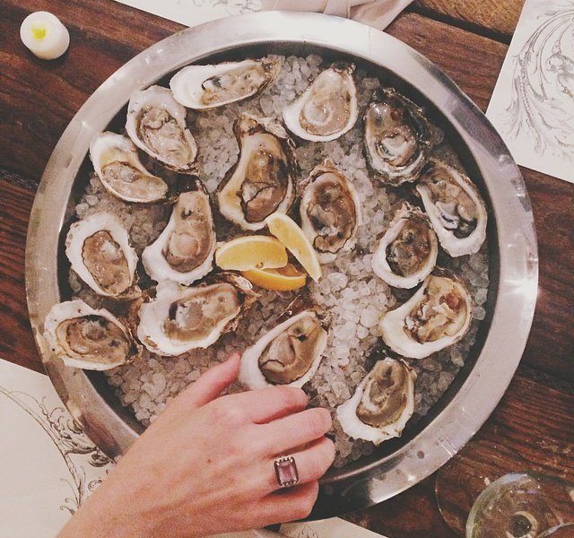 Oysters in Virginia