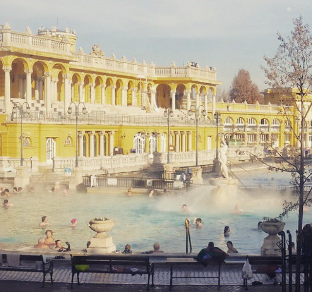 Szechenyi Baths, Hungary