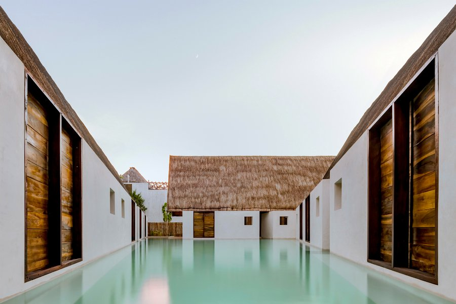 Plunge pool at Punta Caliza