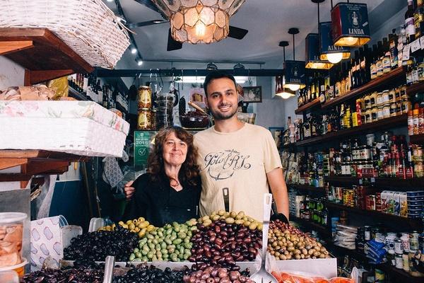 Yomi of Yom Tov Delicatessen, Levinsky Market, Tel Aviv