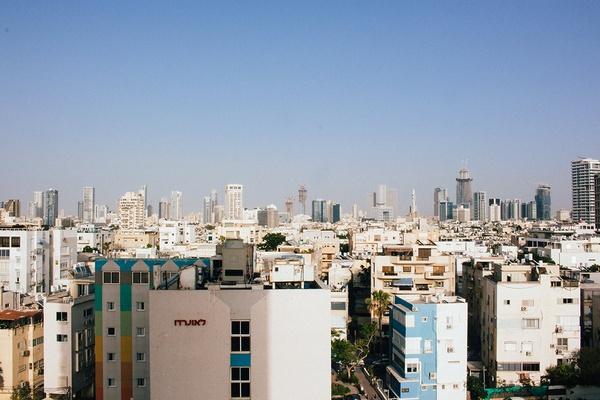 Skyline in Tel Aviv