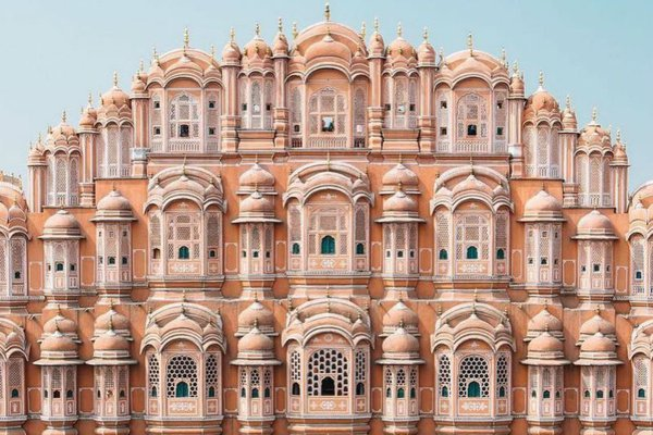 Hawa Mahal Palace in Jaipur, India.