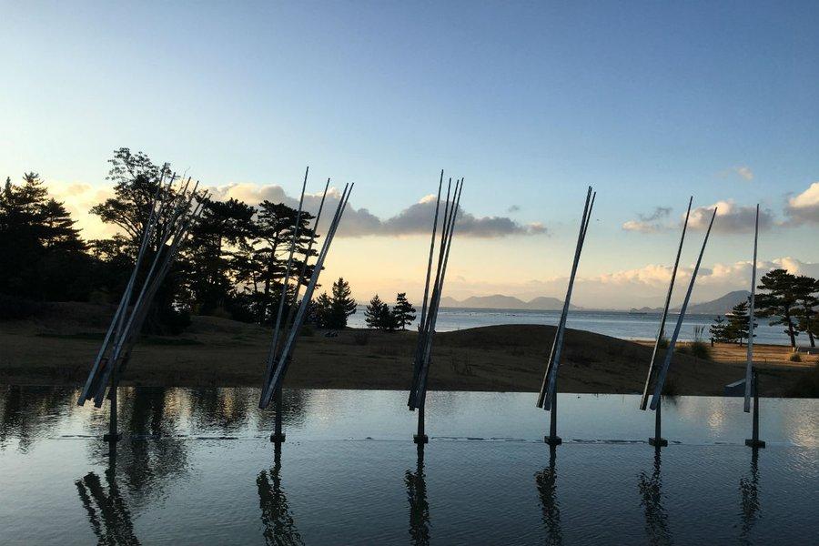 Naoshima island art installation.