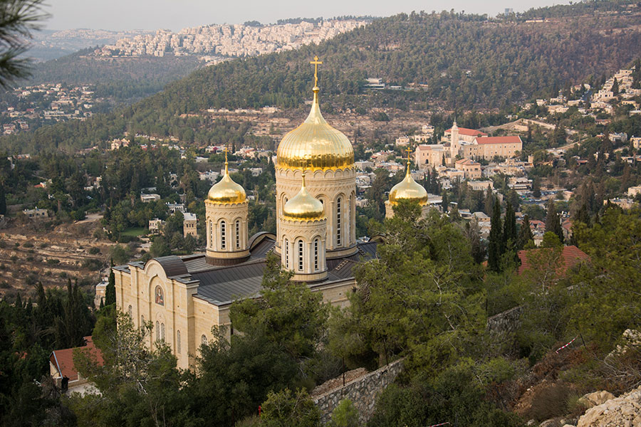 White Russian Monastery, Jerusalem