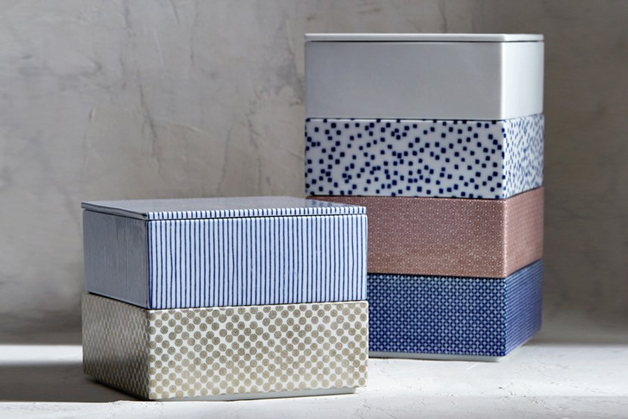 From Japan: Porcelain Boxes