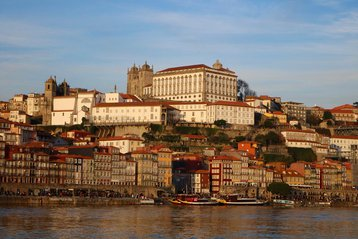Porto view from the sea.