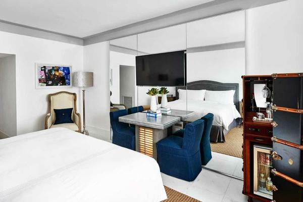 A room at Nautilus South Beach.