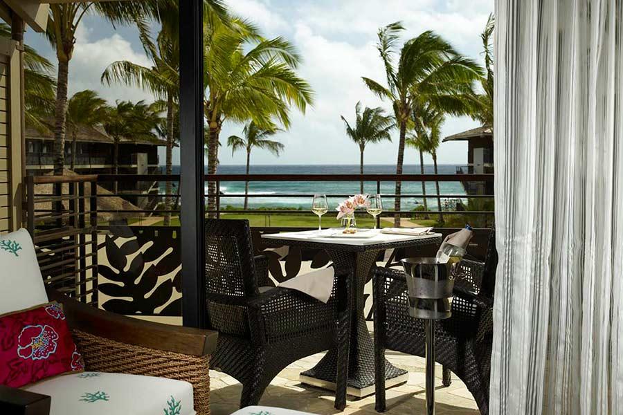 View from Koa Kea Hotel room