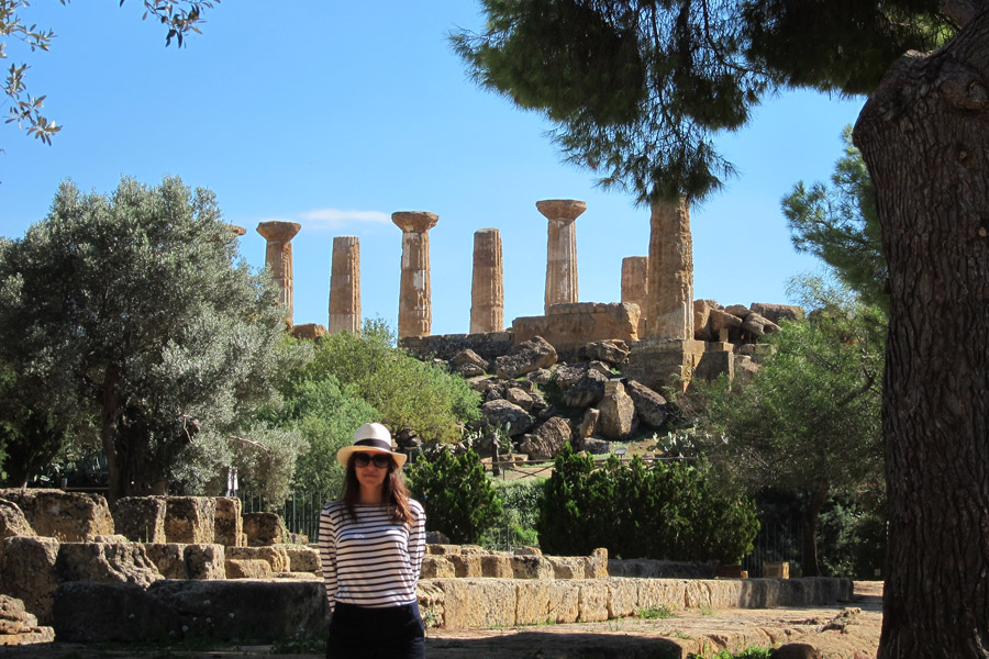 Kerry at Agrigento