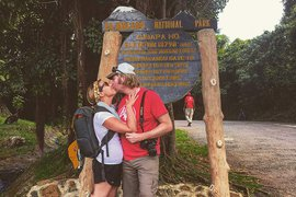 Kissing on Mount Kilimanjaro