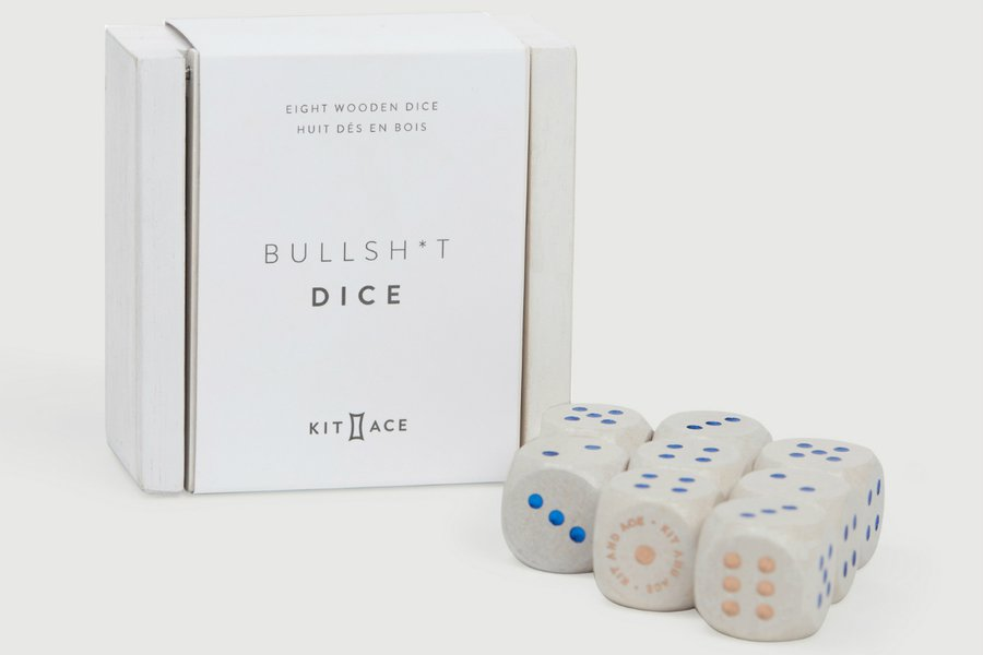 Kit and Ace Bullsh*t Dice