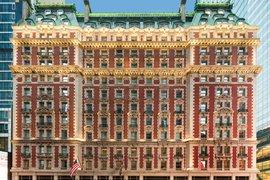 Facade of The Knickerbocker Hotel