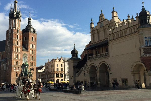 Krakow Main Square Old Town