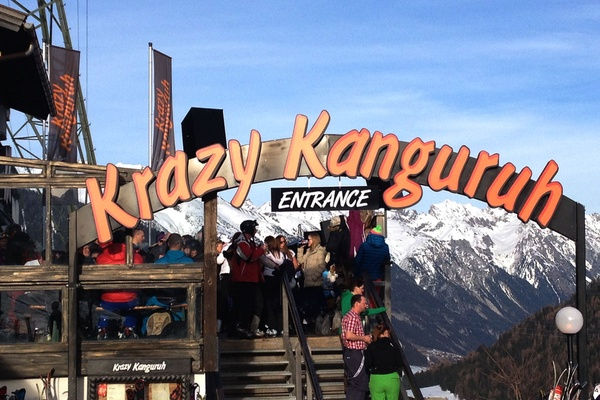 Krazy Kanguruh entrance