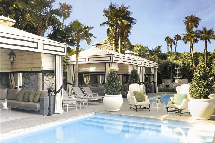 Pool at Viceroy Santa Monica.