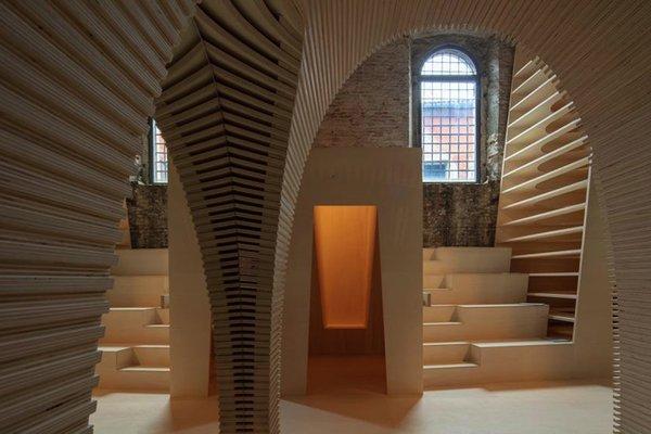Alison Brooks Architects' installation Venice Architecture Biennalle