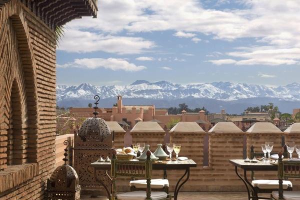 Rooftop, La Sultana Marrakech