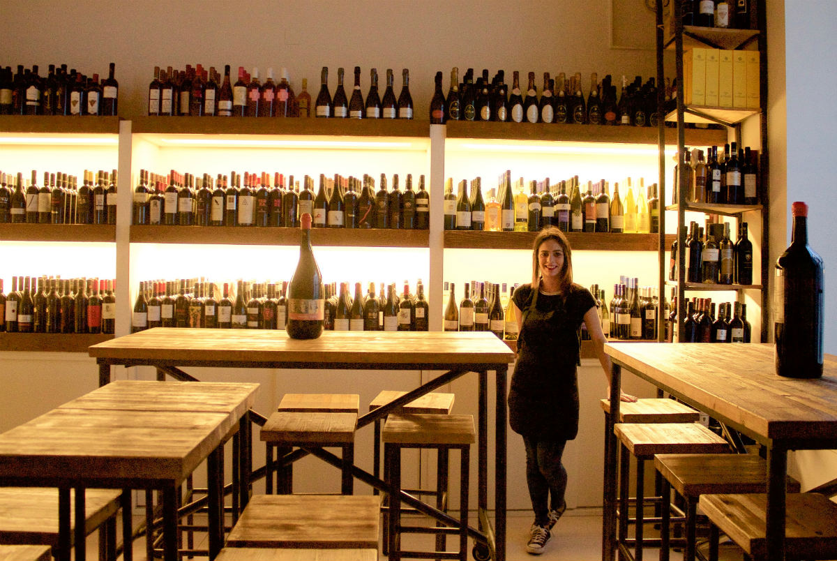 Wine selection, Mamma Elvira, Lecce