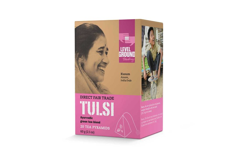 Level Ground Trading Tulsi Tea