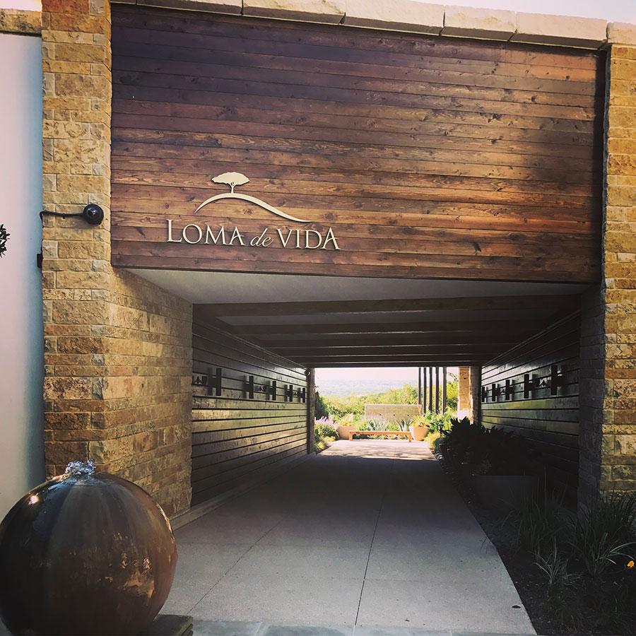 Entrance of Loma de Vida