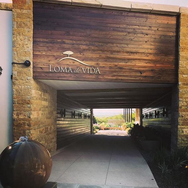 Entrance of Loma de Vida