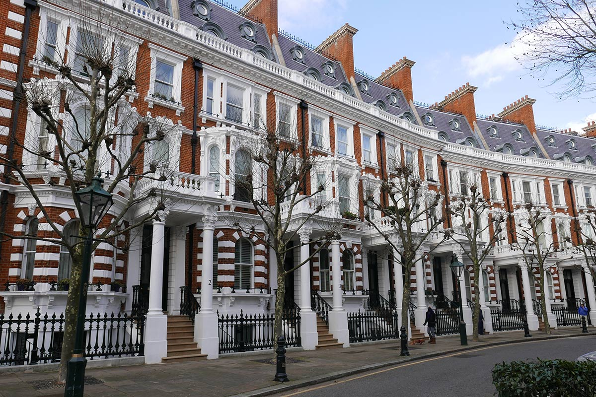 Houses, Kensington, London